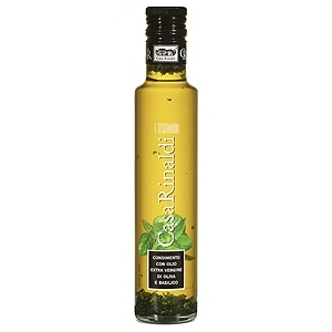 Casa Rinaldi Olive Oil Infused with Basil 250ml